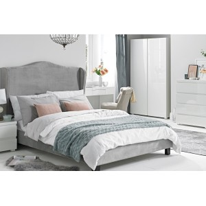 Chateaux Silver Wing Bed