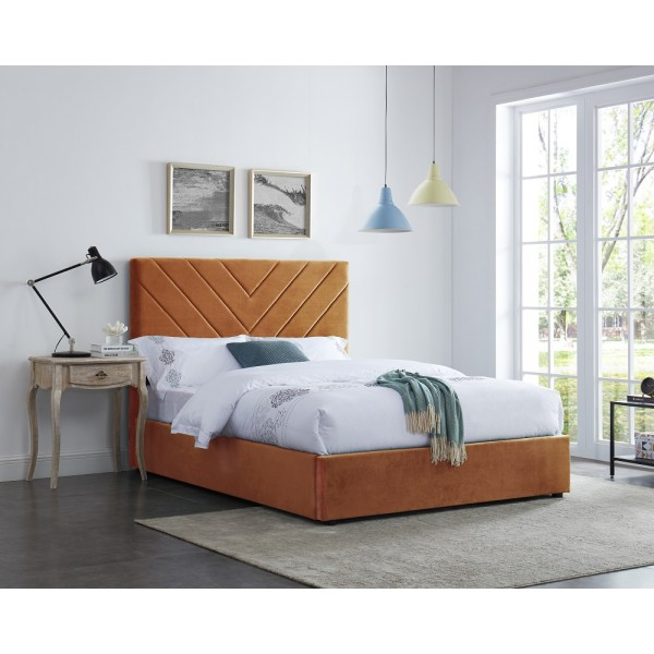 Islington Bed (Orange)