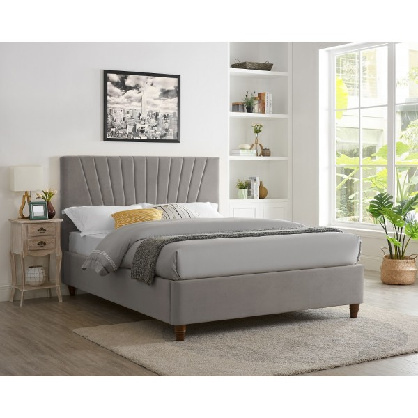 Lexie Bed (Silver)