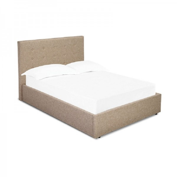 Lucca Bed (Beige)