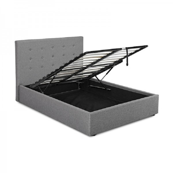 Lucca Ottoman Bed (Grey)