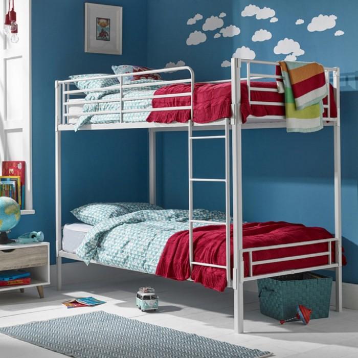 Apollo White Bunk Bed