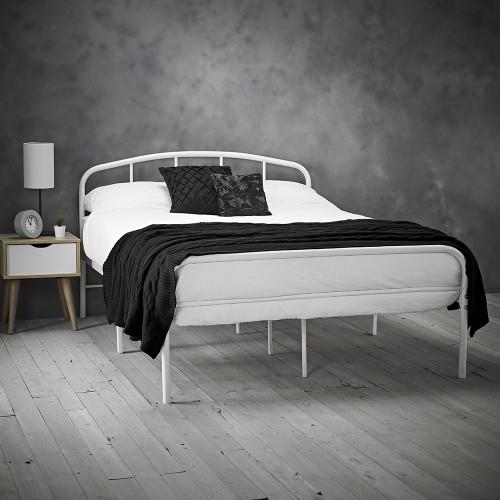 Milton White Bed
