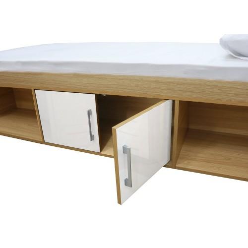 Dakota Taupe Grey Cabin Bed