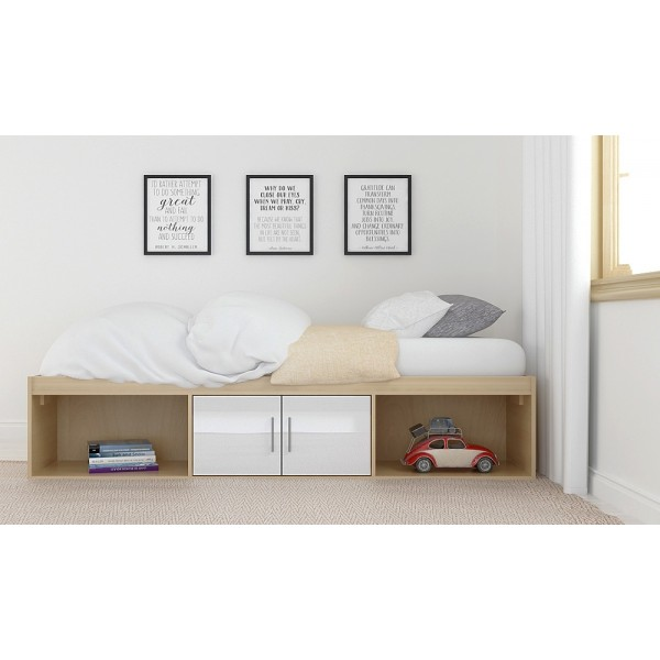 Dakota White Cabin Bed