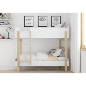 Hero White Bunk Bed