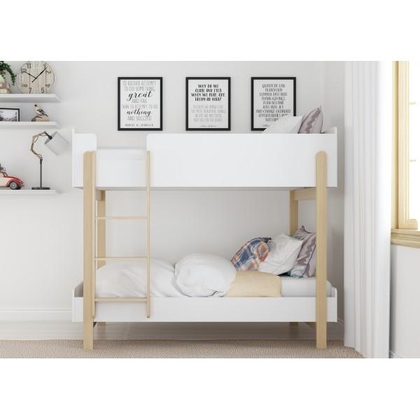Hero Bunk Bed (White)