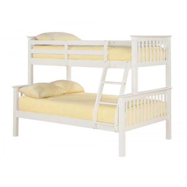Otto Trio Bunk Bed (Off White)
