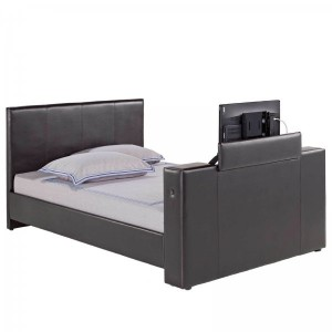 Morton TV Bed in Black