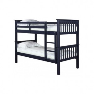 Leo Bunk Bed in Navy Blue *Low Stock - Selling Fast*