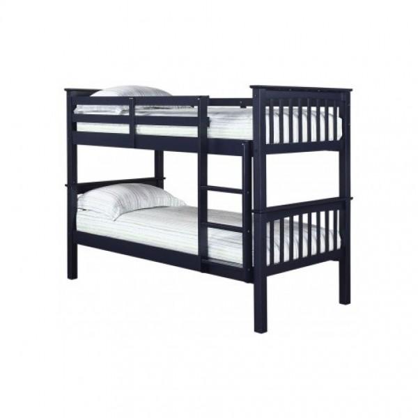 Leo Navy Blue Bunk Bed