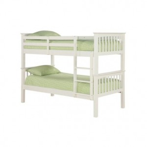 Leo Bunk Bed in Off White *Out of Stock - Back Soon*
