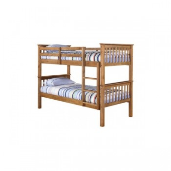 Leo Bunk Bed in Pine *Low Stock - Selling Fast*