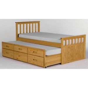Sleepover Bed with Drawers