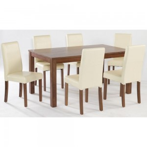 Brompton Large Dining Set {Table + 4} *Low Stock - Selling Fast*
