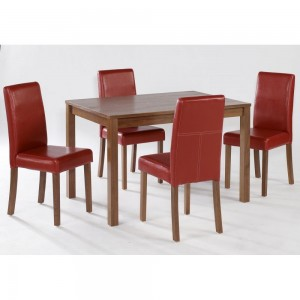 Brompton Medium Dining Set {Table + 4}