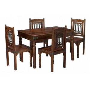 Darjeeling Medium Dining Set {Table + 4}