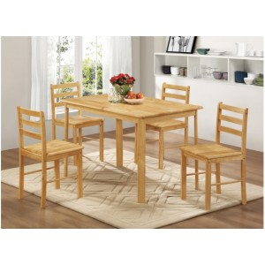 Derby Dining Set {Table + 4)