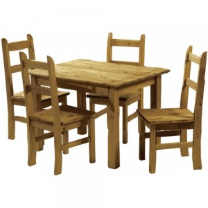 Ecuador Dining Set {Table + 4}