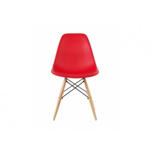 Eiffel Dining Chairs in Red {Box of 4} *Low Stock - Selling Fast*