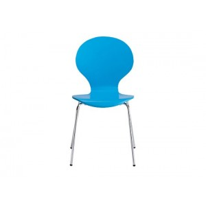 Ibiza Dining Chairs in Blue {Box of 4}