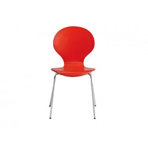 Ibiza Dining Chairs in Red {Box of 4}