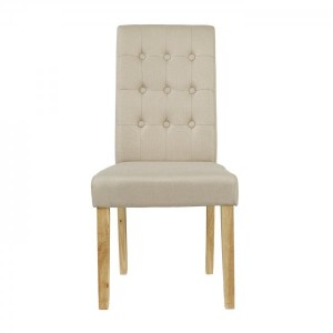 Roma Dining Chairs in Beige {Box of 2}