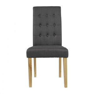 Roma Dining Chairs in Grey {Box of 2}