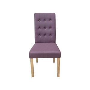 Roma Dining Chairs in Plum {Box of 2}