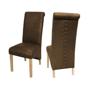 Treviso Dining Chairs in Brown {Box of 2}
