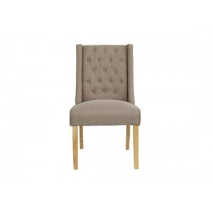 Verona Dining Chairs in Beige {Box of 2}