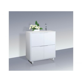 Accent High Gloss 4 Drawer Storage Unit in White *Low Stock - Selling Fast*