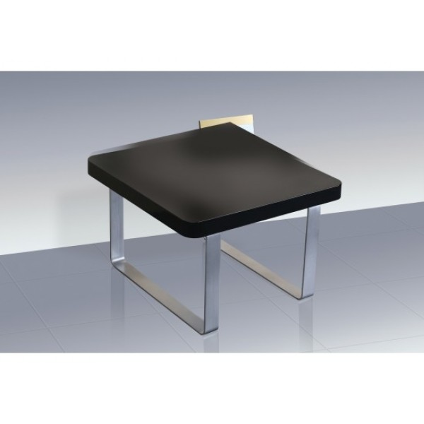 Accent High Gloss Lamp Table in Black
