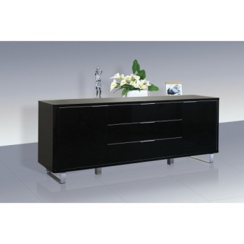 Accent High Gloss Sideboard in Black *Low Stock - Selling Fast*