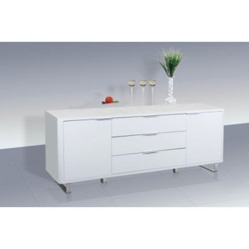 Accent High Gloss Sideboard in White *Out of Stock - Back Soon*