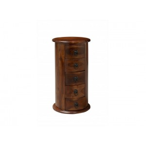 Darjeeling 5 Drawer Drum {Assembled} *Out of Stock - Back Soon*
