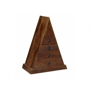 Darjeeling Triangle Chest {Assembled}