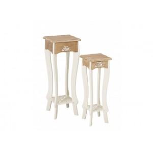 Juliette Set of 2 Lamp / Plant Stands {Assembled}