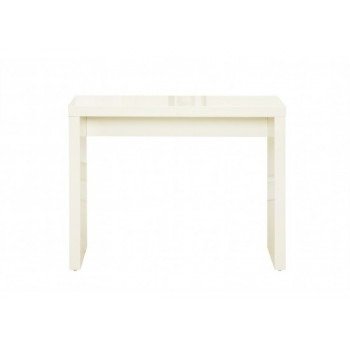 Puro Highgloss Console Table in Cream