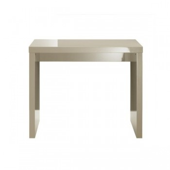Puro Highgloss Console Table in Stone *Out of Stock - Back Soon*