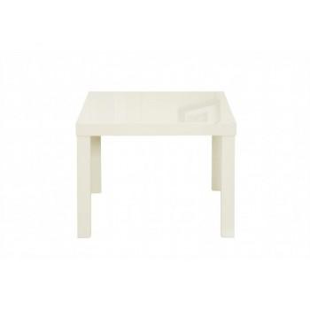 Puro Highgloss Lamp Table in Cream