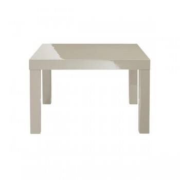 Puro Highgloss Lamp Table in Stone