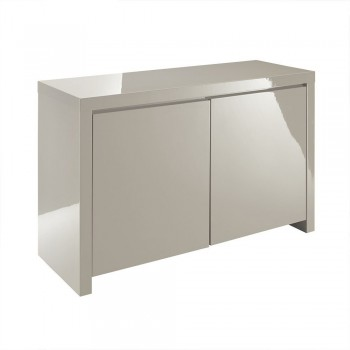 Puro Highgloss Sideboard in Stone