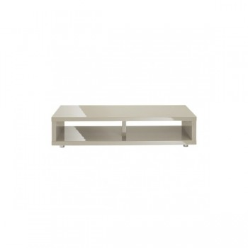 Puro Highgloss TV Media Stand in Stone