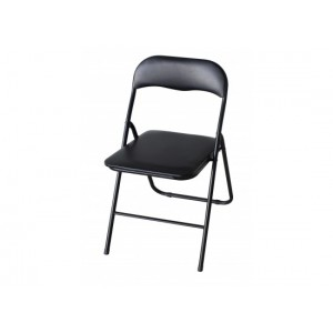 Folding Chair in Black *Low Stock - Selling Fast*