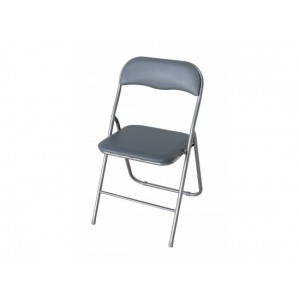 Folding Chair in Silver