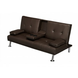 Cinema Sofa Bed in Brown
