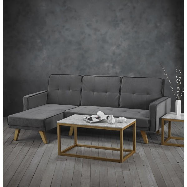 Kitson Corner Sofabed (Silver)