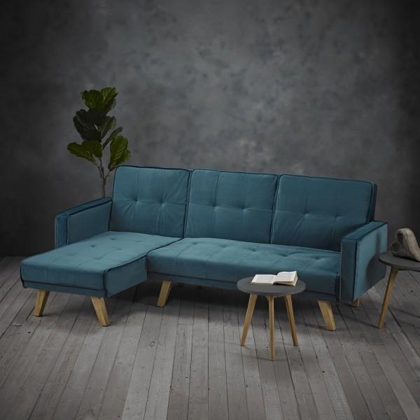 Kitson Corner Sofabed (Teal)