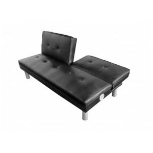 Rio Sofa Bed in Black